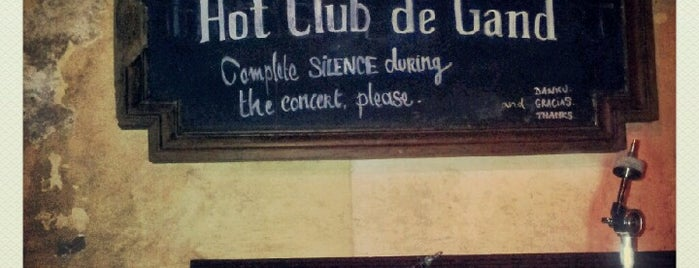Hot Club de Gand is one of Favourite spots in Ghent.