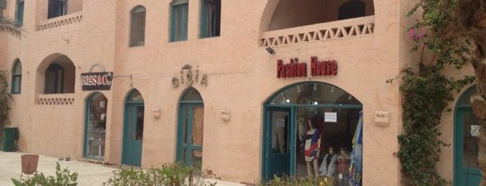 Fashion House is one of El Gouna.