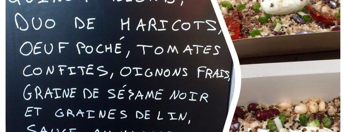 La Maison des Protéines is one of Healthy & Veggie Food in Paris.