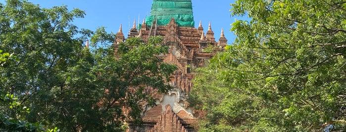 Hti Lo Min Lo Pagoda is one of Bagan,  Myanmmar.