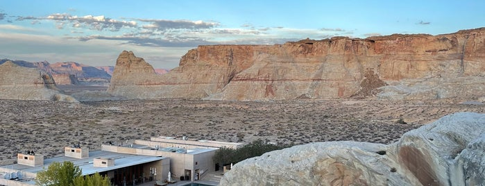 Amangiri is one of New places to check out.