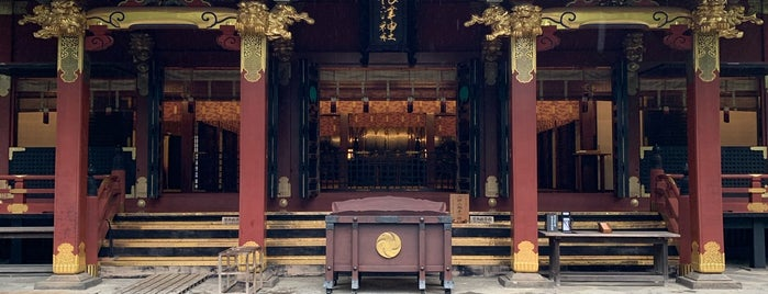 Nezu Shrine is one of Tokyo.
