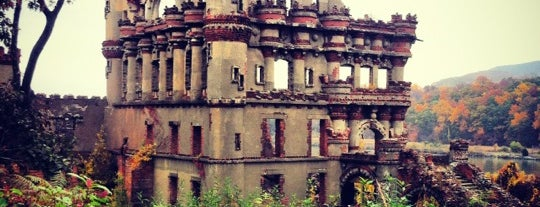 Bannerman Island (Pollepel Island) is one of The World Outside of NYC and London.
