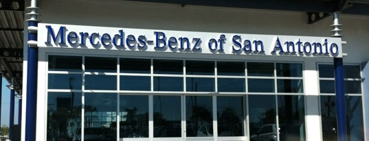 Mercedes-Benz of San Antonio is one of สถานที่ที่ Mark ถูกใจ.