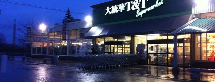 T&T Supermarket 大統華超級市場 is one of Orte, die Bobbie gefallen.