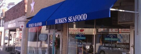 Burke's Seafood is one of Globe Cheap Eats.