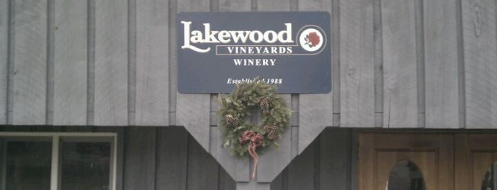 Lakewood Vineyards is one of Finger Lakes Wine Trail & Some.