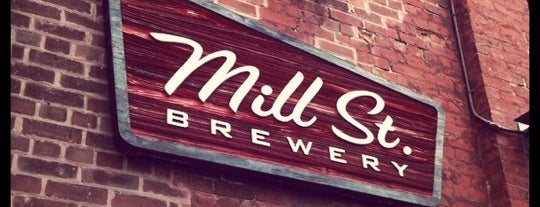 Mill St. Brew Pub is one of Best Breweries in the World.