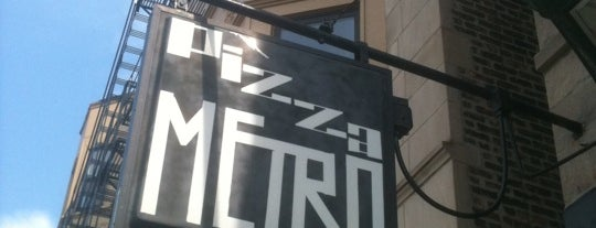 Pizza Metro is one of Pizza.