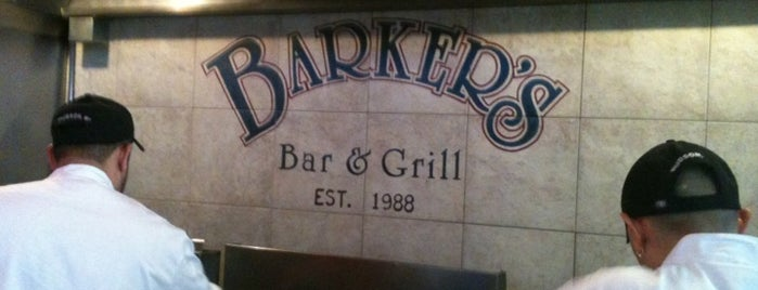 Barker's Bar & Grill is one of Bruno's USA Highlights.