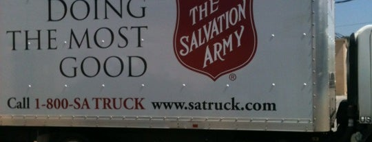 Salvation Army Thrift Store is one of Norman.