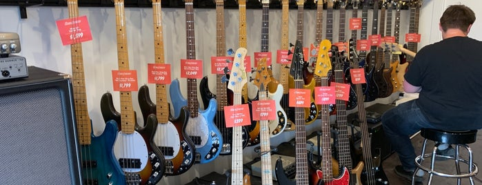 Thunder Road Guitars is one of Seattle.