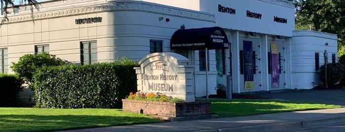 Renton History Museum is one of Jet City.