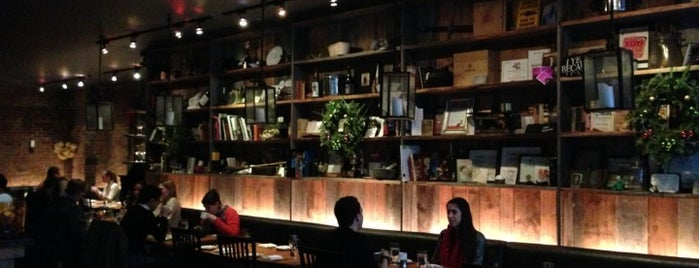 Restaurant Marc Forgione is one of Gluten Free / Organic / Farm to Table.