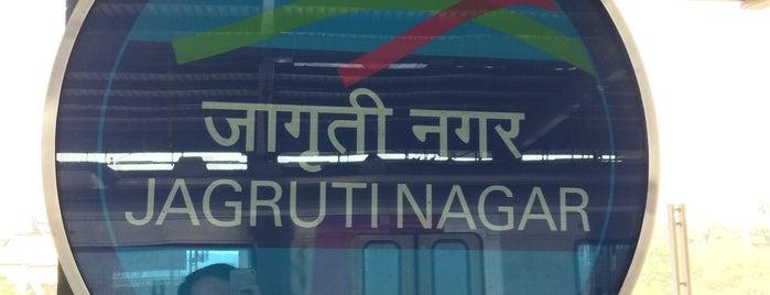 Jagruti Nagar  Metro Station is one of Line 1 (Mumbai Metro).