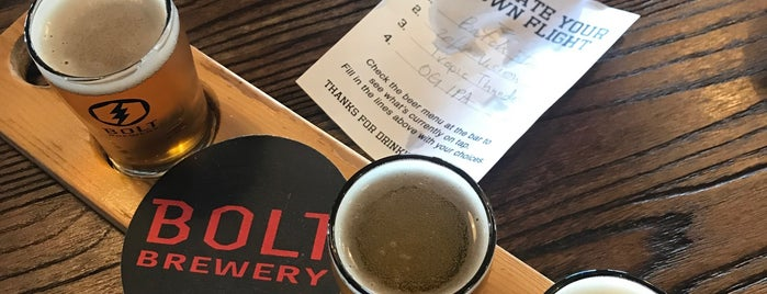 Bolt Brewery is one of San diego.