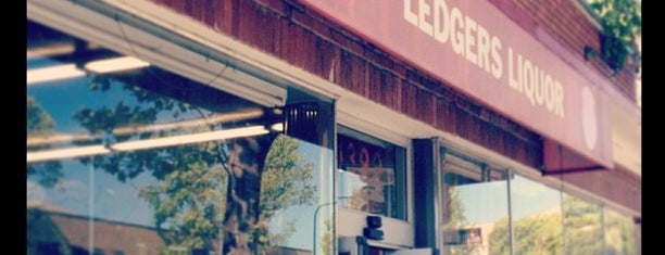 Ledger's Liquors is one of Be a Local in Berkeley.