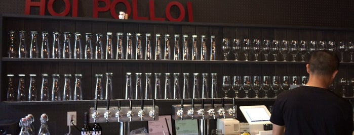 Hoi Polloi Brewpub & Beat Lounge is one of Beer Spots.