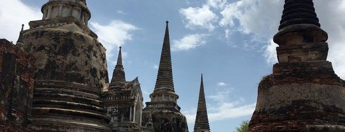 Wat Phra Si Sanphet is one of Trips / Thailand.