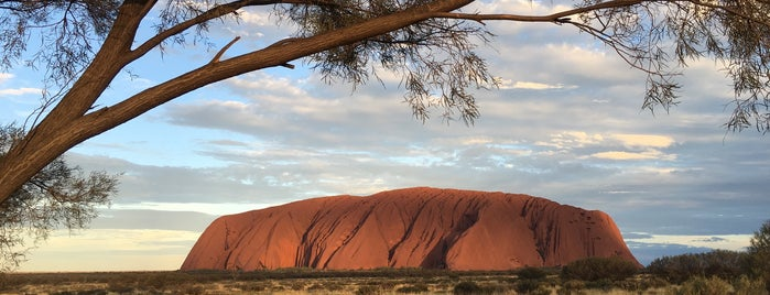 Uluru is one of Go Ahead, Be A Tourist.
