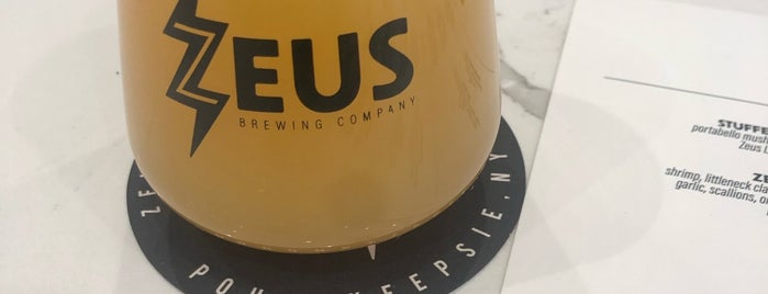 Zeus Brewing Company is one of Tempat yang Disukai Jim.