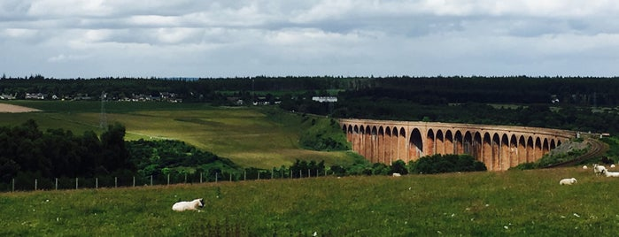 Culloden Viaduct is one of สถานที่ที่บันทึกไว้ของ Sevgi.