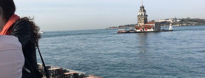 Kız Kulesi Büfesi 1 is one of Orte, die Na¢кσ gefallen.