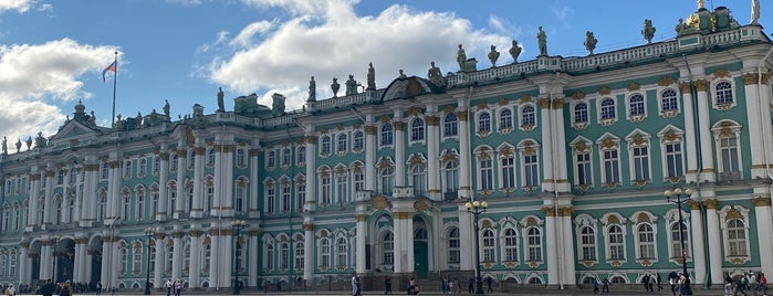 The State Hermitage Museum is one of Saint Petersburg.