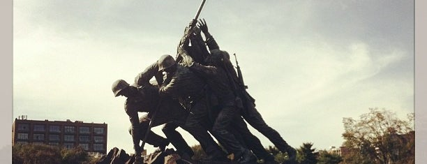 US Marine Corps War Memorial (Iwo Jima) is one of #UberApproved in DC.