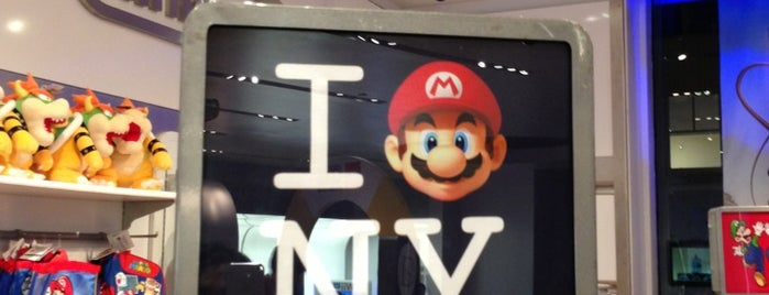 Nintendo is one of NY Trip.