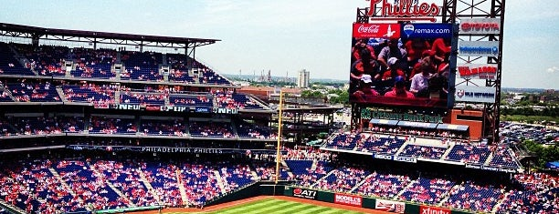 Citizens Bank Park is one of sports arenas and stadiums.