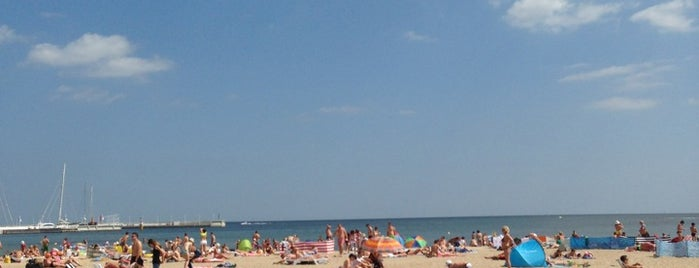 Plaża Sopot is one of Krzysztofさんのお気に入りスポット.