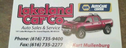 Lakeland Car Co is one of diramani10's Liked Places.