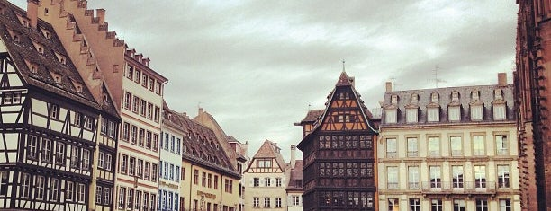 Place Gutenberg is one of Strasbourg - Capitale de Noël - #4sqcities.