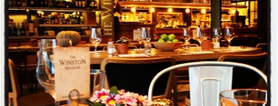 The Winston Brasserie is one of Berkant 님이 저장한 장소.