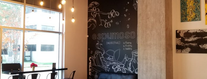 Espumoso Latin Cafe + Espresso Bar is one of Locais curtidos por Michael.