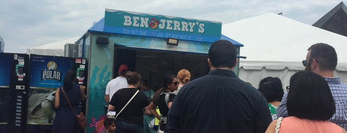 Ben & Jerry's is one of Boston.