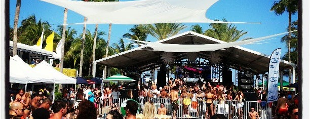 The Pool Parties at The Surfcomber is one of Miami.