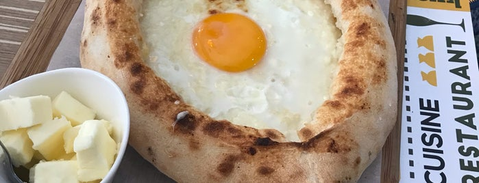 Khachapuri is one of Irene 님이 저장한 장소.
