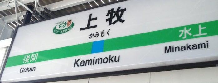 Kamimoku Station is one of JR 키타칸토지방역 (JR 北関東地方の駅).