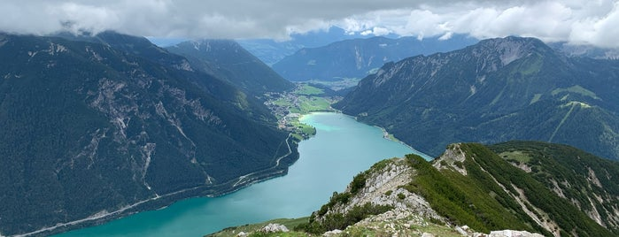Seebergspitze is one of Trips / Achensee.
