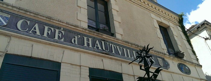 Café d'Hautvillers is one of Champagne.