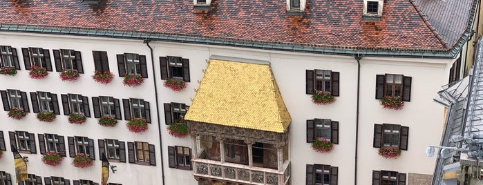 Goldenes Dachl is one of Trips / Achensee.