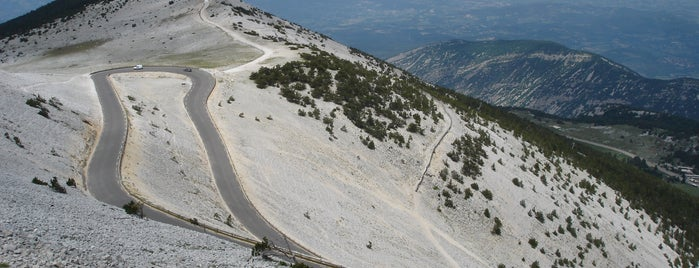 Mont Ventoux is one of France.