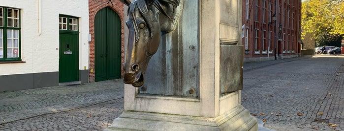 Wijngaardplein is one of Bruges 🇧🇪.