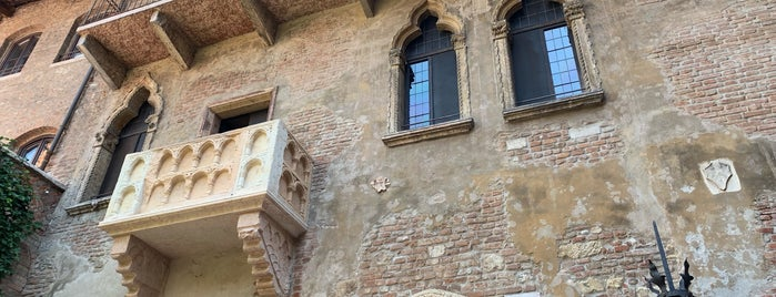 Balcony of Romeo and Juliet is one of Trips / Lago di Garda.