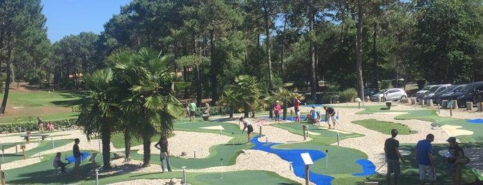 Golf & Mini-golf du Baganais is one of Locais curtidos por Marina.