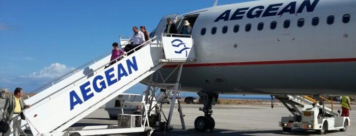 Flughafen Santorin (JTR) is one of Part 1~International Airports....