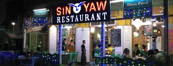 Sin Yaw is one of Myanmar.