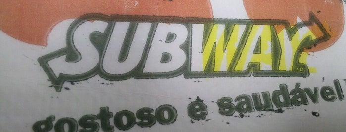 Subway is one of Locais curtidos por Tadeu.